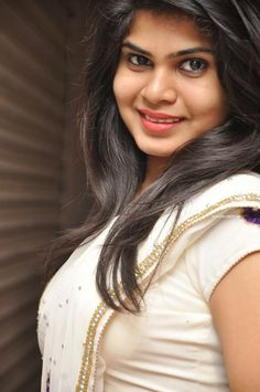 Actress Alekhya In White Saree at Donga Prema Telugu Movie Songs Launch (2) at Telugu Actress Alekhya in Saree  #AlekhyaAngel