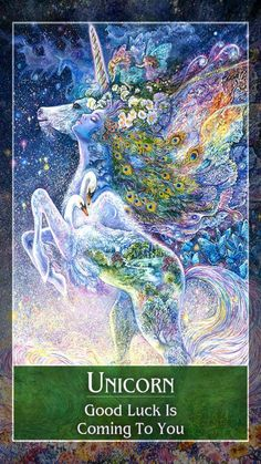 Good Luck Unicorn Unique Unicorn Tarot Guidance for Friday 15 June 2018 Focus On Healing Animal Spirit Guides, Spirit Animal, Oracle Tarot, Angels Among Us, Angel Cards, Decks, Magick, Mystic, Awakening