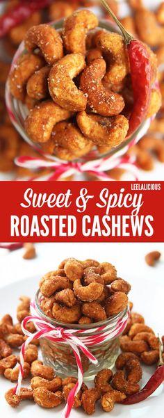 1/4 cup Honey. 1 tsp Chili powder, ground. 2 tbsp Coconut sugar or unprocessed cane sugar. 1 1/2 tsp Salt. 12 oz Cashew nuts, Raw.