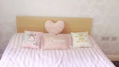 Penneys Homeware Bedroom Pink and White Theme Childrens Hairstyles, Primark Home, First Apartment, Bedroom Styles, Color Themes, Toddler Bed, Hair Styles, Photography, House