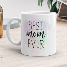 Dad Mug or - Best Dad Ever - Coffee Mugs With Sayings Blue Green Gifts For Dads Happy Father's Day Cup Fathers Day Sweet Gift Presents For Teachers, Gifts For Dad, Gifts In A Mug, Gift Mugs, Teacher Appreciation Gifts, Teacher Gifts, Tall Coffee Mugs, Best Teacher Ever, Shops