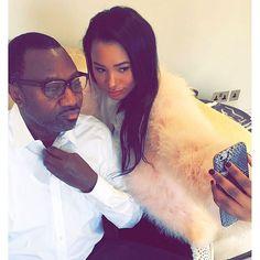Temi Otedola Takes Selfie With Father - Celebrities - Nigeria