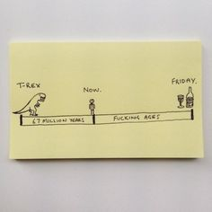 Post-it reality. Chaz Hutton is the creator of these hilarious and brutally honest bits of reality in post-it format . Funny Images, Funny Pictures, The Awkward Yeti, Tim Beta, Brutally Honest, Man Humor, Nerd Humor, Memes Humor, Sticky Notes