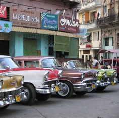 Havana, Cuba. I want to visit my home country that I left when I was 1.5 years old. I want to be stunned by all the vintage cars in stellar condition down there.