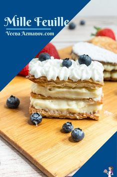 A napoleon or mille-feuille is a classic French pastry with layers of buttery flaky puff pastry baked until golden and crisp then filled with alternating layers of pastry cream. Making this French dessert at home is surprisingly simple and easy so you never have to go to the patisserie for it again #millefeuille #napoleon #frenchpastry #frenchdessert #napoleonrecipe