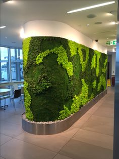 New moss wall in central london office mobiliário de jardim, jardins v Garden Wall Designs, Garden Design, Cool Plants, Green Plants, Office Wall Design, Office Art, Green Interior Design, Magic Garden, Plant Wallpaper