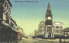 New Zealand - About Christchurch - Frontier Town: Christchurch New Zealand, Alcohol Rehab, Big Ben, History, Building, Travel, Historia, Viajes, Buildings