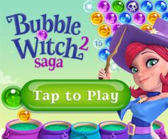 From the makers of Candy Crush Saga, Bubble Witch Saga & Farm Heroes Saga comes Bubble Witch Saga 2! It's Bubble Bouncing Magic Stella and her cats need your help to fend off the dark spirits that are plaguing their land. Travel the realm bursting as many bubbles as you can in this exciting adventure. Win levels and free Witch Country piece by piece. Take on this epic saga alone or play with friends to see who can get the highest score!