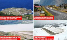 The world's most terrifying airport landings revealed