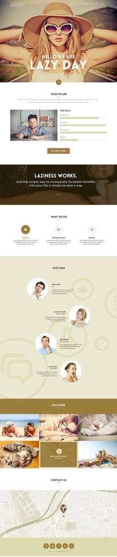 A great list of free web templates PSD designs, all these are professional and fresh web design PSDs. Page Template, Psd Templates, Website Template, Free Web Page, Webdesign Layouts, One Page Website, Photoshop, Design Web, Graphic Design