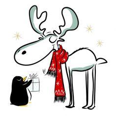 3624 Servilleta decorada Navidad