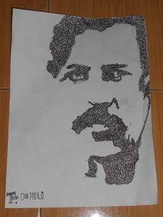 Pablo escobar I drawing I nice cartel