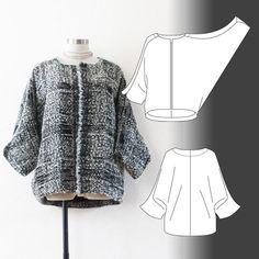 "Hilda / ""Yippee"" jacket - Tamanegi-kobo"