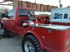 Bad ass welding truck