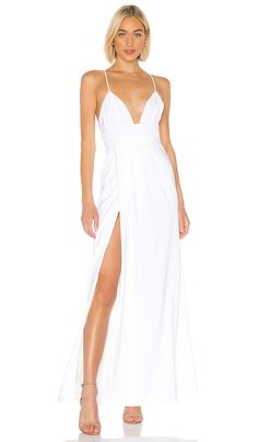 Anyssa Gown in White