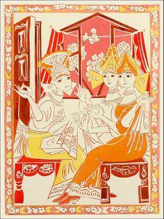 Illustrator Goncharova, Nataliia Sergeevna.
