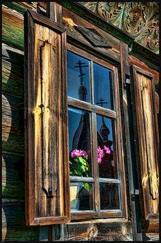 Suzdal, Russia window