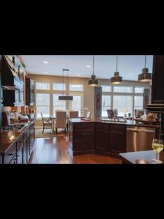 Kitchen/dining room/ living room