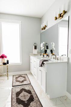 ANDREA WEST DESIGN BLOG: Mecham Dream Home || Master Bathroom Design Reveal