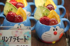 Those cups are great holding equally great fruit...