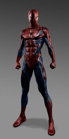 Prototipo de traje para la nueva película de #Spiderman