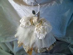 The Swan - Art Dress Assemblage - Sue Griffiths
