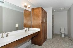 Bathroom- Custom Rambler in Rogers, MN by JPC Custom Homes, Inc