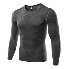 Men's Long Sleeve Compression Quick Dry Tee