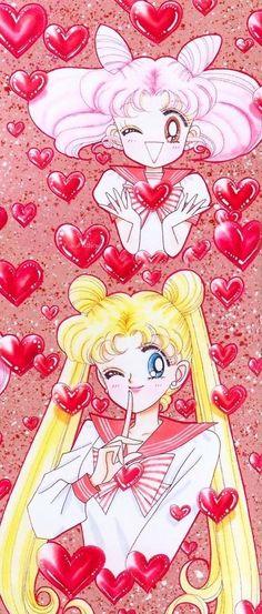 Valentine Sailor Moon (Source: Naoko Takeuchi)
