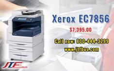 The Xerox EC7856 is a Multifunctional Color Printer that comes with a High Capacity Tandem Tray. This device saves time by simultaneously scanning both sides of two-sided document. The Xerox EC7856 Exceptional media flexible and can handle a wider range of media types.