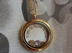 Rememberance Necklace Loss of Baby Child Living by ChicMamaDesigns, $45.49