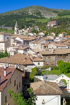 The Abrusseze town of Pescocostanzo