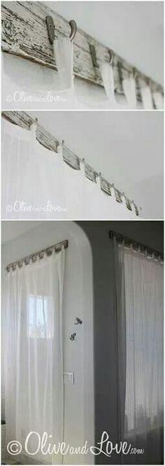 My Shaker Pullback Curtain Pinterest Window Bedrooms