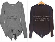 inspiration and realisation: DIY fashion blog: got fishtail?