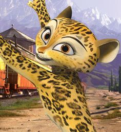 This may be the inspiration image for my girl's halloween costume. Gia the Jaguar Picture - Madagascar 3: Europe's Most Wanted