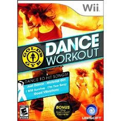 Wii Gold's Gym Dance Workout... pretty fun! (Need to get it back out... I ditched it for Just Dance 2)