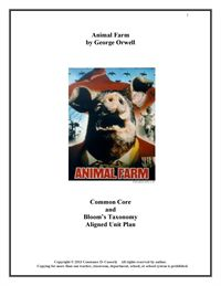 Animal Farm Unit Plan | Lesson Plans