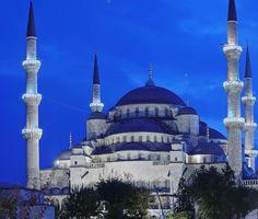 blue mosque -