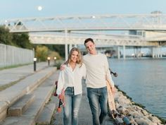 A relaxed couple with their longboards at their engagement session in Toronto Fall Engagement Shoots, Engagement Session, Ontario Place, Engagement Photography, Wedding Photography, Local Pubs, Downtown Toronto, Longboarding, Real Couples