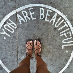 you are beautiful   quote