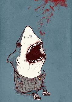 http://society6.com/product/Shark-Bites_Print