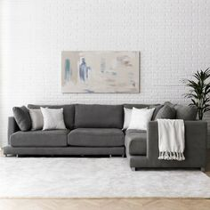 sofá rincón de Kenay Home Decor, Sofa Design, Sofa, Sectional Couch, Deco, Home Decor, Home Deco, Corner Sofa, Living Room Sofa Design