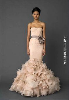Vera Wang | CHECK OUT MORE IDEAS AT WEDDINGPINS.NET | #bridesmaids