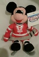 "DISNEY HOCKEY ICE Sport 7"" MICKEY MOUSE Mini Plush Retired"