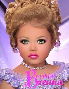Glitz Pageants looks sooo much like a doll! not!