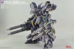 GUNDAM GUY: MG 1/100 Sazabi Ver Ka - Customized Build