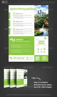 Energy Smart Flyer Template