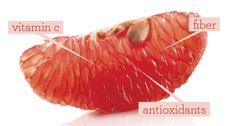 The Fiber-Rich Fruit That Makes Skin Glow. But BE CAREFUL as grapefruit is a food that can't be mixed with many types of prescription meds. Read your labels before incorporating this into your diet.