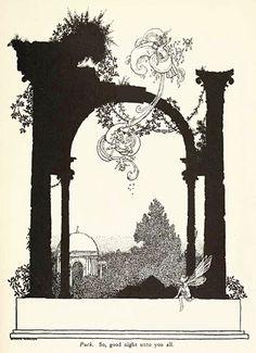 Midsummer Night's Dream illustrated by W Heath Robinson 1914