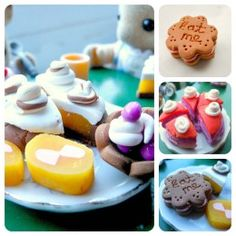 How to make miniature polymer clay food